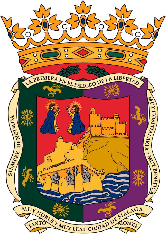 Escudo De La Ciudad De MáLaga, 3