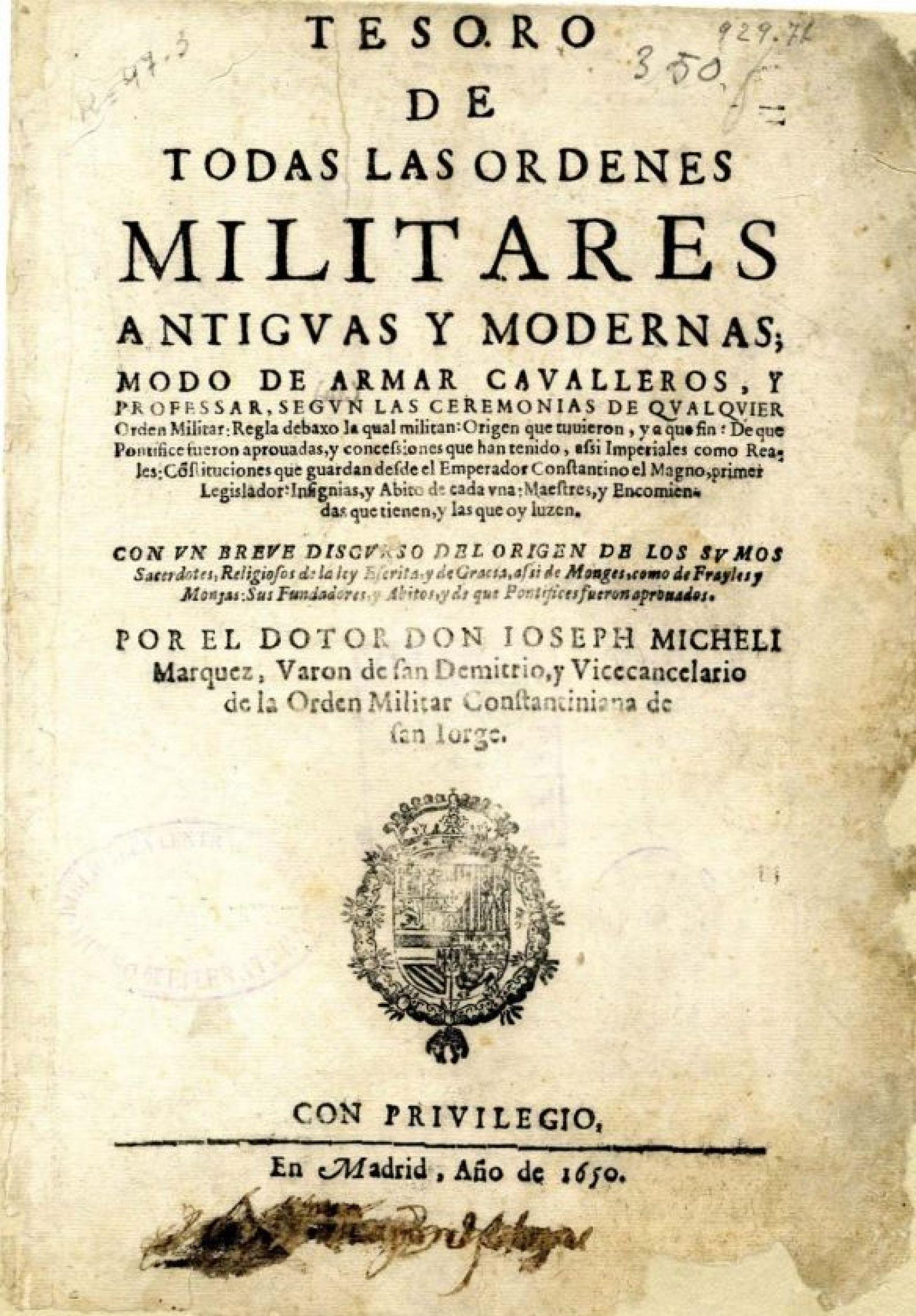 Historia OO. Militares
