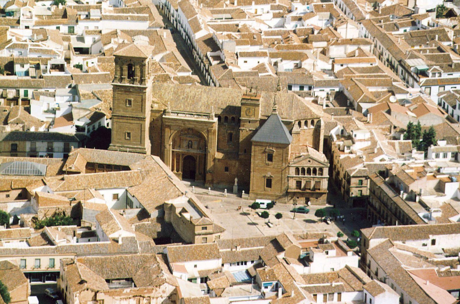 Vista Aerea De La Parroquia De San Andres,