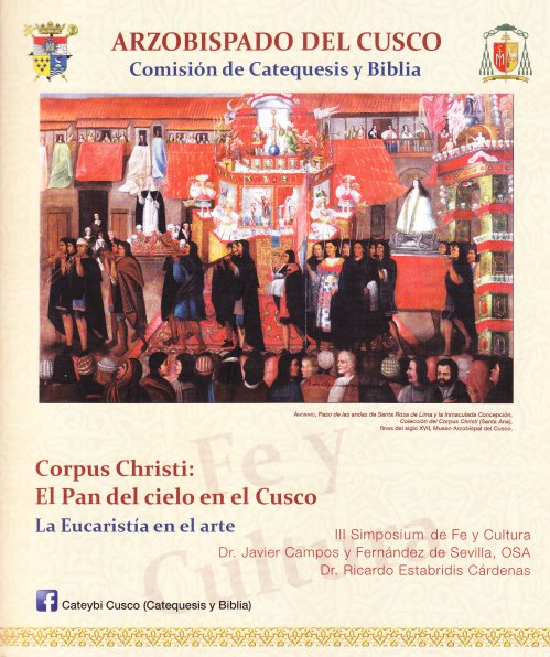 Apartado VII. Cuzco, III Simposio. Corpus Christi