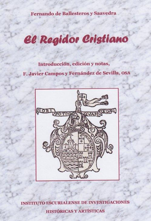 Portada Libros Regidor Cristiano